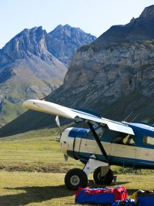 Roundtrip backcountry flights- we're really remote!