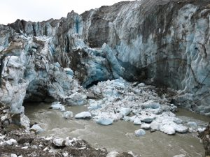Glaciers change every day. Each time we visit the Root & Kennicott glaciers are different!