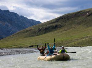 Woo-hoo, rafting!