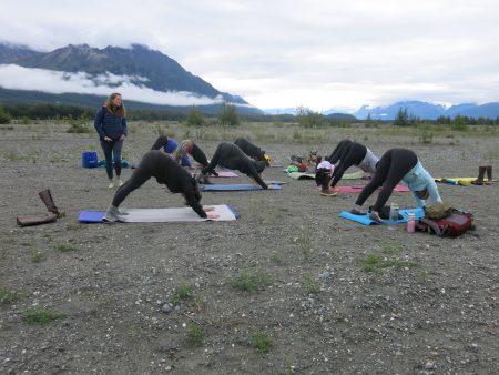 Nature, our yoga studio