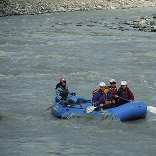 Jule on the Kennicott River