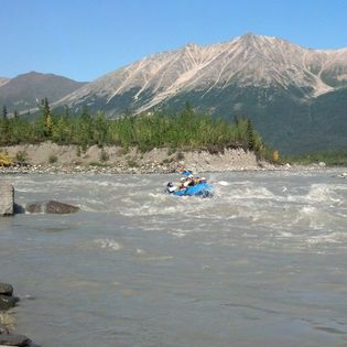 Kennicott River on Day 1